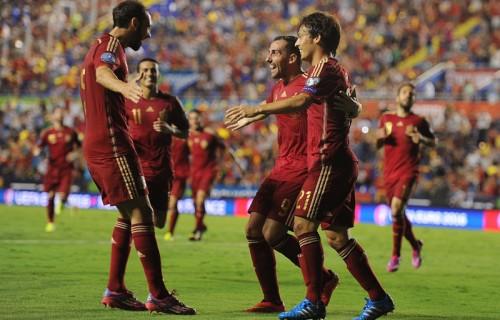 ユーロ3連覇へ、王者スペインが5発快勝…予選初戦でマケドニア撃破