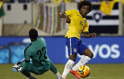 ブラジルがウィリアン弾でエクアドルを下す…ドゥンガ新体制下で連勝
