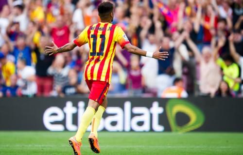 2ゴールでビルバオ撃破のバルセロナFWネイマール「楽しんでいる」