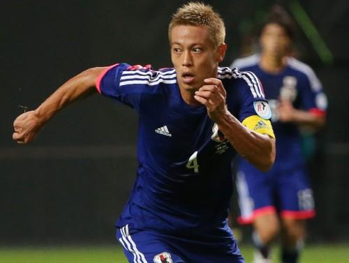 主将としてプレーした本田、若手の活躍に「まだ意識していない」