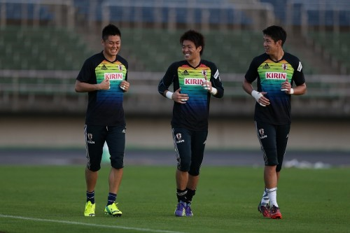 合宿合流の川島、新しいGKコーチとの練習に好印象「すごく刺激的」