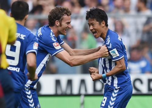 山田大記がドイツ移籍後初ゴール、初アシストも記録し勝利に貢献