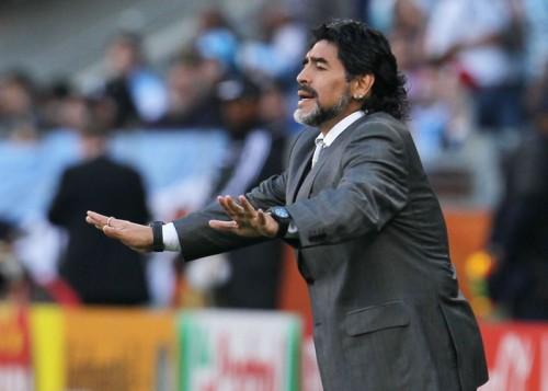 マラドーナがパレスチナ代表監督に就任か…アジア杯で日本と激突も