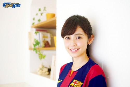 【美女インタビュー】久慈暁子「サッカーをやっている人はオシャレなイメージ♪」