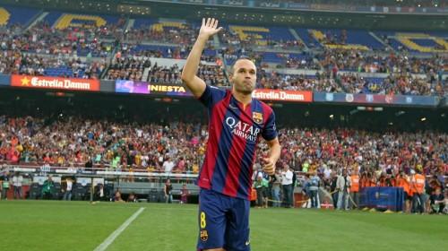 MFの得点が少ないバルセロナ、スペイン紙はイニエスタの奮起に期待
