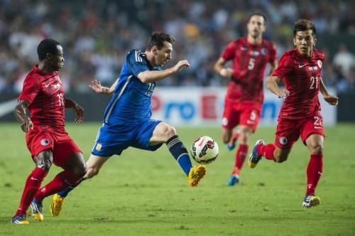 メッシとイグアインらが2得点…アルゼンチンが7発、香港を粉砕