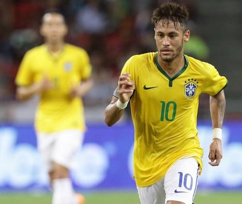 ネイマール、ブラジル代表歴代最年少での1試合4得点…史上8人目
