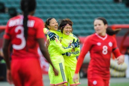 なでしこジャパン、親善試合でカナダ女子代表に3-0の完勝