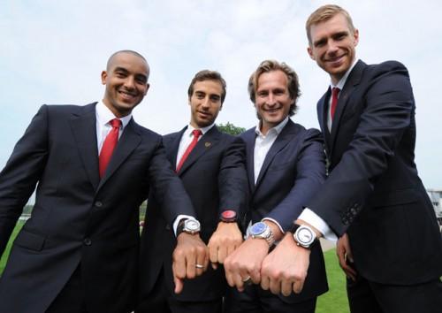 アーセナルがスイス時計ブランド「ジャンリシャール」と契約…2つの特別モデルが登場