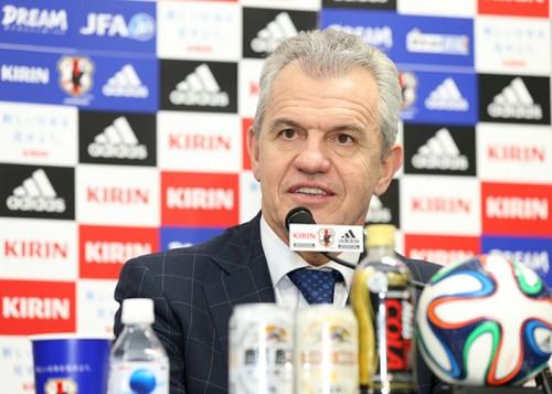 日本代表アギーレ監督、決定力不足改善に自信「才能は揃っている」
