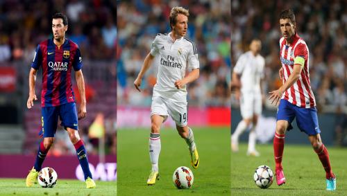 昨シーズンのリーガ最優秀MF候補に3名が選出…スペイン紙報道