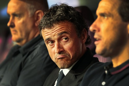 バルセロナのエンリケ監督、今季初黒星に「責任は私にある」