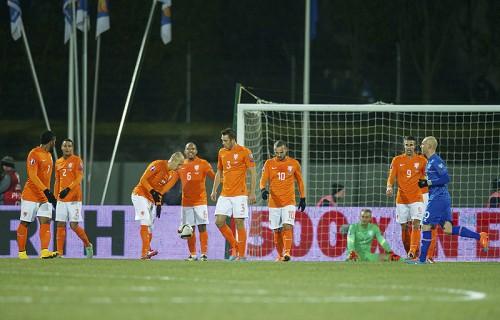 オランダ、ユーロ予選3試合で2敗目…アイスランドに完封負け