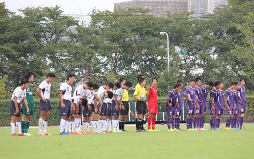好調明治大の連勝がストップ…U-21代表DF室屋の同点弾で駒澤大とドロー/関東大学リーグ