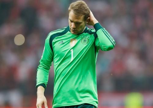 ポーランドに初黒星…ドイツ代表GKノイアー「失点は僕のミス」
