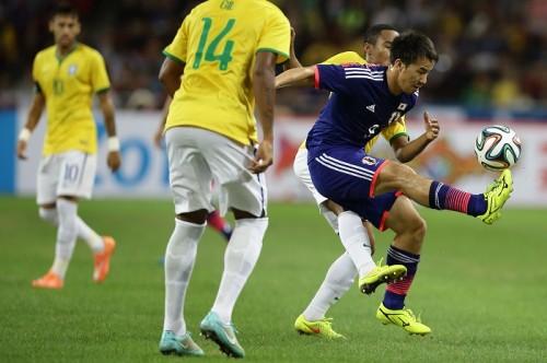 ブラジル戦でも不発…力の差を痛感する岡崎「自分たちの今の実力」
