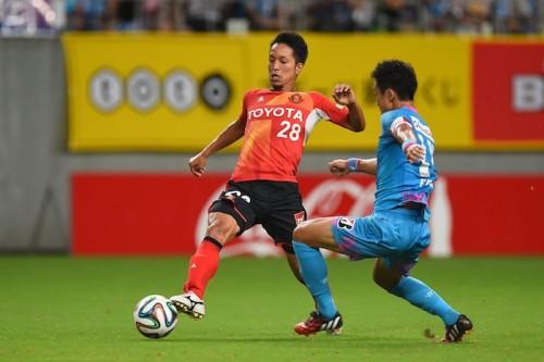 吉田離脱で代表初招集の名古屋MF田口、驚きながらも「楽しみたい」
