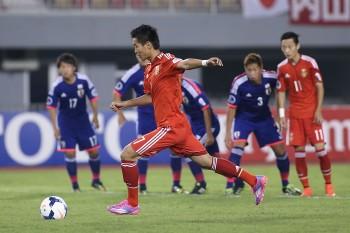 AFC U19 Championship 2014 - China Vs Japan