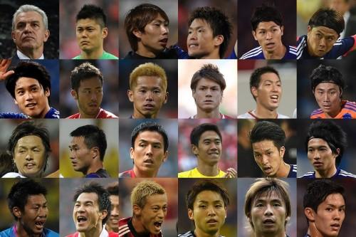 日本代表に内田、遠藤、今野らが復帰…ホンジュラス、豪と対戦