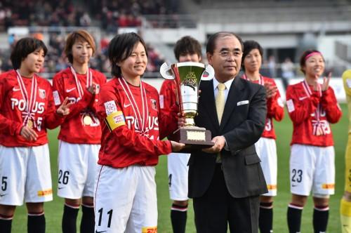 なでしこリーグ年間表彰式、MVPは年間王者の浦和から後藤三知が選出