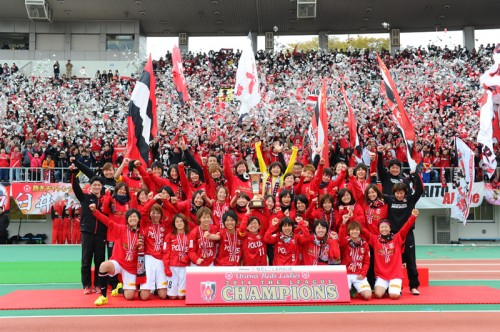 浦和レディースが5年ぶりの優勝…最終節敗戦も得失点差で年間王者に