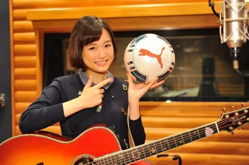 高校サッカー選手権応援歌は18歳の大原櫻子さんが担当「すごくうれしい」