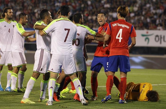 South Korea v Venezuela - International Friendly