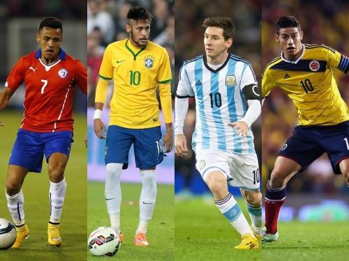 コパ・アメリカの組み合わせが決定…ブラジルはコロンビアと同組に