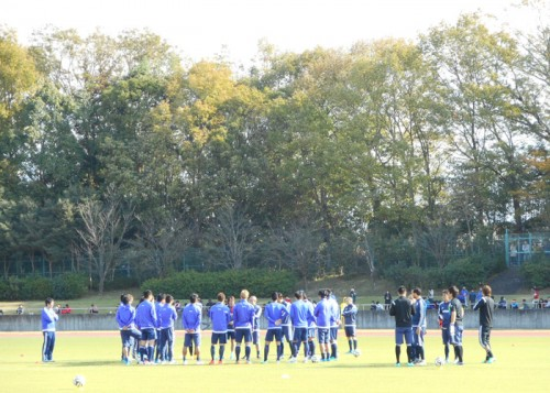 6発大勝の日本代表、内田と遠藤、香川、豊田が別メニューで調整