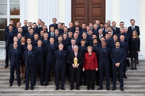 ブラジルW杯を制したドイツ代表、同国最高位のスポーツ賞を受賞