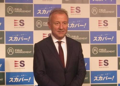 前代表監督ザック、日本での再指揮に言及「何が起こるかわからない」