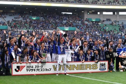 今季J1復帰のG大阪が2度目のナビスコ制覇…広島は佐藤が最多得点更新