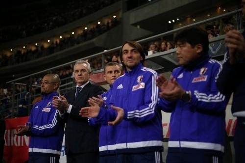 6発大勝のアギーレ監督、アジア杯の目標は「もちろん優勝すること」