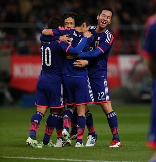 日本がW杯出場国ホンジュラスに6得点圧勝…乾&豊田が代表初得点
