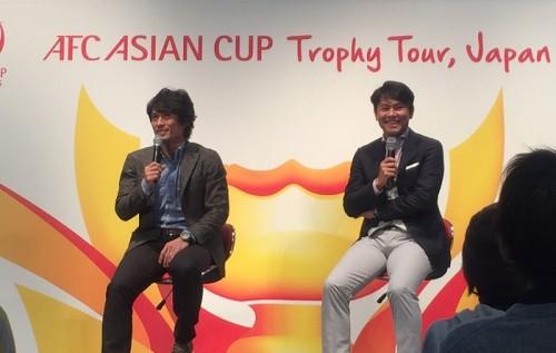 優勝経験者が語るアジア杯…福田氏「Jの追い風に」、宮本氏「日の丸燃やされたことも」