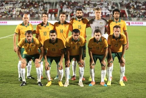 日本と対戦するオーストラリア、ケーヒルら来日メンバー22名を発表