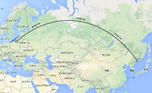 世界で最も過酷な対戦カードがロシア2部に…往復距離が地球半周に相当