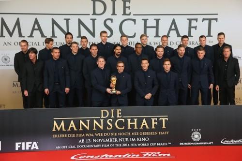 ドイツ代表のドキュメンタリー映画が完成…選手らが試写会に出席
