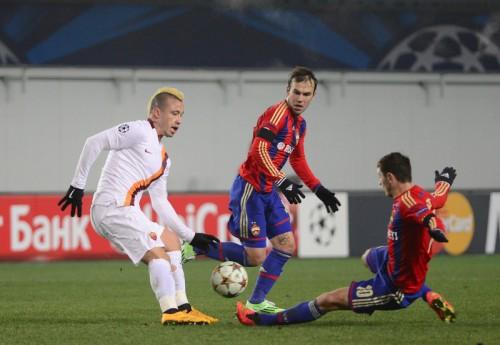 ローマが土壇場で痛恨の失点…CSKAに引き分け2位争いは大混戦