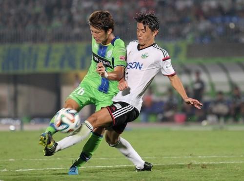 J1昇格へ強行出場の松本DF田中、5月に負傷した右ひざは全治3〜4カ月