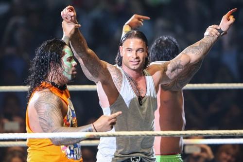プロレス参戦元独代表GKヴィーゼ氏、WWEのリングで肉体美披露