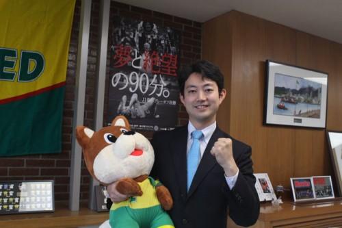 【インタビュー】熊谷俊人(千葉市長)「クラブの新たなストーリーが始まる瞬間をサポーター、市民の方と見届けたい」