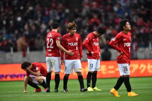 浦和、痛恨の逆転負けで優勝逃す…開始2分の先制も名古屋に後半2失点