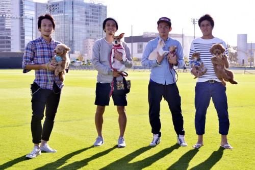 横浜FMの藤本淳吾ら4選手がクラブファンブックで愛犬自慢「犬は癒やしです」