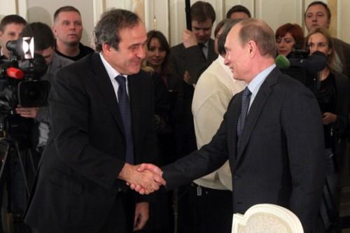 """プーチン大統領がプラティニに""""袖の下""""でピカソの絵画? W杯招致を巡る不正疑惑に新報道"""