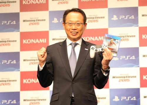 岡田氏、ウイイレ代表監督に就任「サッカーを盛り上げられるなら」