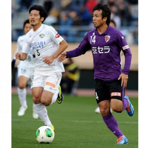 京都、MF山瀬功治との契約更新を発表…今季リーグ戦38試合出場