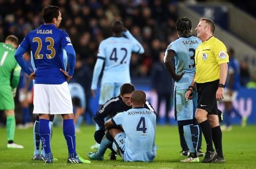 マンC主将のDFコンパニ、復帰試合でまたも負傷…1カ月の離脱か