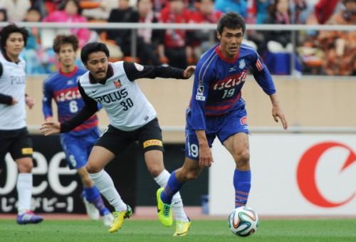 一番伸びた38歳。甲府FW盛田剛平が示した価値と、日本サッカーの眠れる可能性