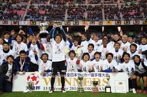 【ファインダーを覗いて…ピッチサイドからの考察】ガンバ大阪、三冠達成!